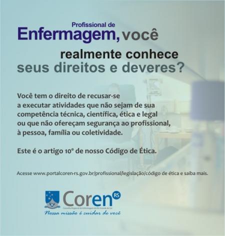 Etica enfermagem